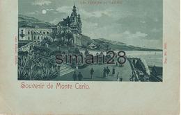 MONTE CARLO - N° 3033 - SOUVENIR DE MONTE CARLO - LES JARDINS DU CASINO - Casino