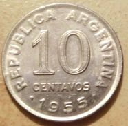 Argentina - 1955 - 10 Centavos - KM 51 - VF - Argentine