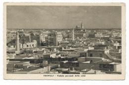TRIPOLI VEDUTA PARZIALE DELLA CITTA' NV FP - Libya