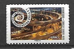 France 2014 - Yv N°  932a  ** Dynamiques ( échangeur) Autoadhésifs Pro - France