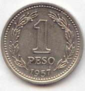 Argentina - 1957 - 1 Peso - KM 57 - XF - Argentine