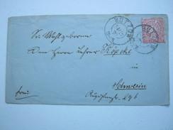 1870 , BÜTZOW , Klarer Stempel Auf Brief - Mecklenburg-Schwerin