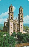 Mexico Mexique - Taxco - Iglesia De Sta - Churrigueresco Art - Church - 2 Scans - Mexico