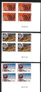 France 2014 - Yv N° 930.a + 932a + 933a ** Dynamiques ( La Rose, échangeur, Cerf Volant) Autoadhésifs Pro - Coin Daté - Adhesive Stamps