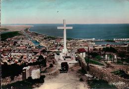 CPSM 34 SETE La Croix Du Mont Saint Clair Et La Ville , AUTO CITROËN TRACTION - Sete (Cette)