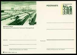 79070) BRD - Bildpostkarte P 86 - A8/61 - * Ungebraucht - 15Pf Tegel - Hannover-Messe, Privatbahnhof - [7] West-Duitsland