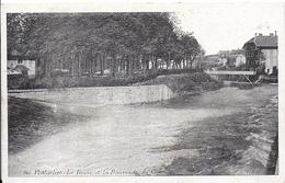 11840.....PONTARLIER, Le Doubs Et La Promenade Du Cours - Pontarlier
