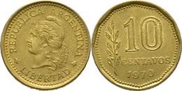 Argentina - 1970 - 10 Centavos - KM 66 - VF - Argentine