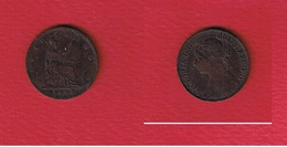 Grande-Bretagne  --  1 Farthing --  1892  --  Km # 753     -- état TTB - B. 1 Farthing
