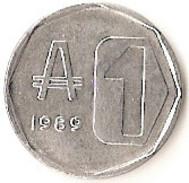 Argentina - 1989 - 1 Austral - KM 100 - VF - Argentine