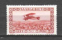 Germany Saargebiet 1928 Mi 126 MH - 1920-35 Saargebiet – Abstimmungsgebiet