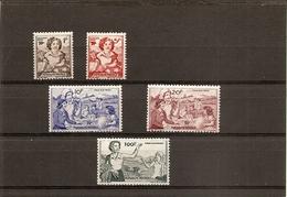 Série Complète De 5 Vignettes NSC (erinnophilie) Mutualité Postale - Erinnophilie