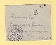 Camp De Prisonniers En Allemagne - Munster - Marcofilie (Brieven)
