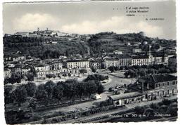 MONDOVI - STAZIONE FERROVIARIA - PANORAMA- NVG FG - C427 - Cuneo