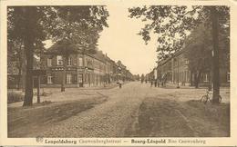 Leopoldsburg. Cauwenberghstraat  -  Bourg_léopold. Rue Cauwenberg.  (scan Verso) - Leopoldsburg