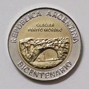 """Argentina - 2010 - 1 Peso - Bicentennial """"Glaciar Perito Moreno"""" - KM 160 - Unc - Argentine"""