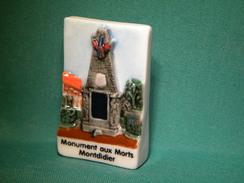 Fève Perso- Boulangerie Delamotte à Montdidier-Monuments Aux Morts (083 Bt) - Regions