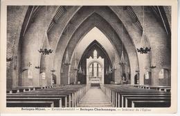 Binnenzicht Kerk Van Beringen Mijn - Beringen