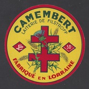 Etiquette De Fromage Camembert -  Laiterie De Filstroff  (57) - Formaggio