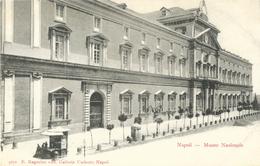 Napoli - Museo Nazionale - Edit. E. Ragozino, Galleria Umberto - Carte Précurseur Non Circulée - Musées