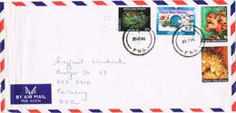 20936. Carta Aerea LAE (Papua Y Nueva Guinea) 1986 - Papouasie-Nouvelle-Guinée