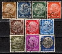 DEUTSCHES REICH 1933 - MiNr: 482-495 Lot 10 Verschiedene Used - Deutschland