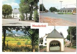 Manderfeld (Bullange-Büllingen)-Multivues-Kloster-Dorf-Grenze-Douane-Chemin De Croix-Chapelle Des 7 Dormeurs- - Bullange - Buellingen