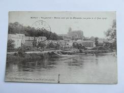 MONCY Bateau Coulé Par Les Allemands     Vue Generale. Montcy Notre Dame Charleville Mezieres  08 Ardennes - France