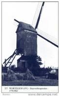 WORTEGEM (O.Vl.) - Molen/moulin - Blauwe Postkaart Ons Molenheem Van De Verdwenen Stuivenbergmolen - Wortegem-Petegem