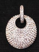 Bijoux-pendentif-23-Strasses Et Argent 925 - Pendentifs