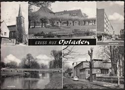 Germany Opladen 1965 / Church, River, Bridge, Car - Leverkusen