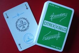 Jeu De 32 Cartes - Publicité Citrex Liandier - Alès Gard (30) - 32 Cards