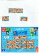 FEUILLET SIDNEY  OLYMPHILEX  2000 - Blocs & Feuillets