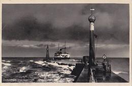 Rostock Warnemunde - Mole Mit Dan.Fahre - Leuchtturm Lighthouse - Feldpost 1942 - Rostock
