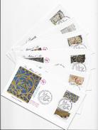 """Enveloppes  1er Jour FDC 2009 6 Enveloppes """"Les Métiers De L'Art"""" - FDC"""
