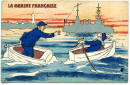 La Marine Française - Inconvénients Du Canot Berton... - Humor