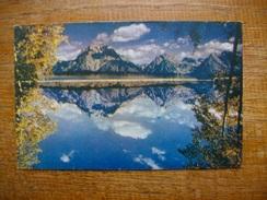 états-unis , Wyoming , Grand Tetons From Jackson Lake - Etats-Unis