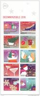 Nederland - Kerstmis/Christmas 2016 - Decemberzegels 2016 - Blok Van 10  - Limited Edition - MNH - NVPH V3474-3483 - Periode 2013-... (Willem-Alexander)