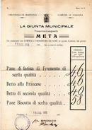 1912   LETTERA CON ANNULLO VIADANA MANTOVA + GUALTIERI - PREZZO DEL PANE - Storia Postale