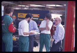 GP F1 Spa Francorchamps 1989 -  Lola Larousse - G Ducarouge - Diapositive Dia Diapo 35mm Original (108) - Diapositives