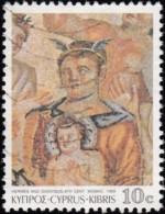 CYPRUS - Scott #743 Mosaics / Used Stamp - Chypre (République)