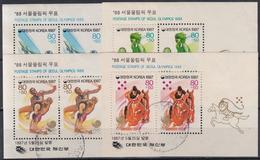 COREA DEL SUR 1987 HB-399/02 USADO - Corée Du Sud