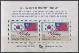 COREA DEL SUR 1987 HB-403 USADO - Corea Del Sur