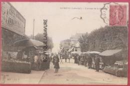 44 - LA BAULE--L'Avenue De La Chapelle--marché--animé - La Baule-Escoublac