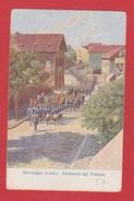 Morhange  --  Einmarsch Der Truppen - Morhange
