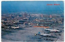 LONDON AIRPORT - AEROPORTO DI LONDRA - 1969 - Vedi Retro - Aerodrome