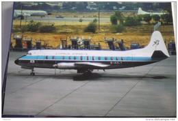 CYPRUS AIRWAYS  VISCOUNT  G AZLT   ATHEIN AIRPORT 1975 - 1946-....: Modern Era