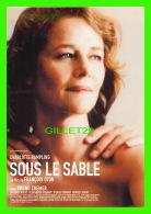 "ARTISTES - CHARLOTTE RAMPLING ""SOUS LE SABLE"" - EN 2001 - - Artistes"