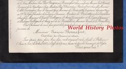 Document De 1883 - BELLEVUE ( Seine Et Oise ) - Monsieur François BONNAFONT - Contrôleur Des Douanes - Douane - Historische Dokumente