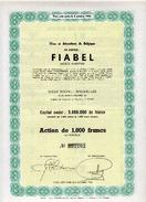 FIABEL - Films Et Attractions De Belgique - Cinéma & Théatre